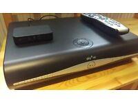 SKY+ HD (500Gb) Box, remote and wireless box