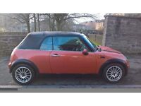 Mini Convertible 1.6 2004 (04)**Full Years MOT**An Iconic Mini Soft Top For ONLY £2495!!!