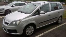 Vauxhall Zafira Life 7 seater MPV.