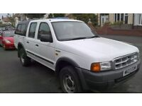 Ford Ranger pickup 2003 with truckman top