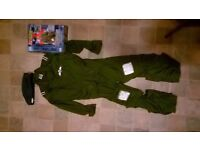 childs flying suit