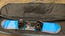 Burton Clash 146 Womens Snowboard & Flow Bindings