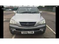Kia Sorento 2.4 diesel Manual 5dr 4x4 silver warranty available Part ex welcome