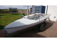 470 Olympic & International Class Sailing Dinghy/Boat.