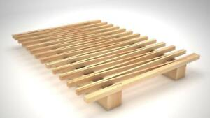 All Wooden BRAND NEW Platform Bed *German Designed, No Screws * Cheaper than Box spring and frame, 0% Financing Avail.