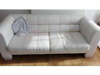 Sofa 3+2 and footstool