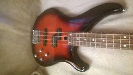 Yamaha TRBX204 Active bass guitar and brand new gig bag