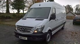 Deposit Taken. Mercedes Sprinter 313 CDI HR LWB. Manufacturers Warranty until 2018.