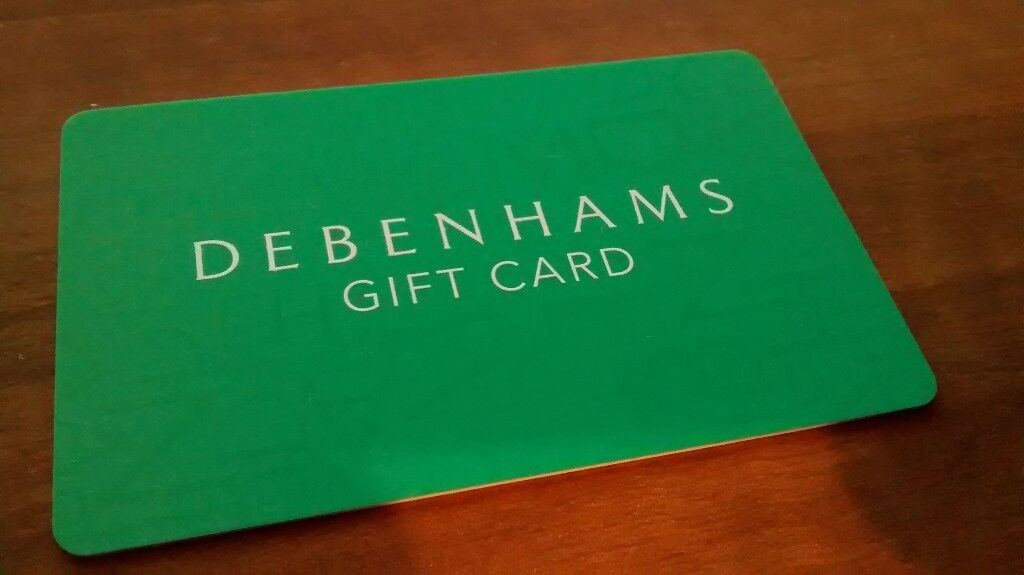 Debenhams Gift Voucher Card £100 for only £90 - Quick Discount online or instore