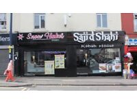 HIGH STREET RESTAURANT/TAKEAWAY/DESSERT PARLOUR AVAILABLE ON A PROMINENT POSITION