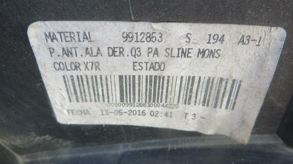 Stoßstange Audi Q3 S-Line Facelift 8U vorne ab 14 | 8U0807438AF in Koblenz