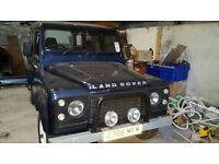 Land rover 90 defender v8 originally 2.5d