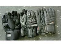X 3 Motorbike Gloves