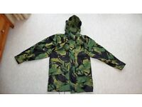 """Waterproof WEB-TEX Breathable Combat Jacket 35-37"""" inch Chest 170/88 (ATC cadets army woodland)"""
