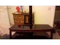 """Cantilever Television Stand.** Largish item to transport**..."""" Lots of interest but no shows so far"""""""