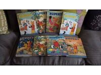 COLLECTION OF RUPERT BOOKS