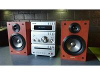 Sony CD/MP3/Tape/Radio HiFi player, 2 x speakers