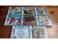 8 x Nintendo DS Games