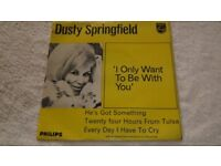 dusty springfield - i only want to be with you - 45 ep
