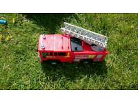 Kids fire engine water toy