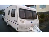 2006 Bailey Pageant Burgundy Touring Caravan: motor mover and lots of other extras
