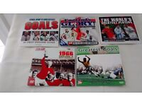 Newspaper Football DVD's x 5 - Good Condition