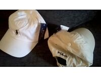 (NEW) Polo Baseball Caps, 2 colours available, new with tags