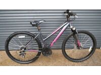 GIRLS / SMALL LADIES LIGHTWEIGHT ALUMINIUM BIKE IN IMACULATE ALMOST NEW CONDITION..