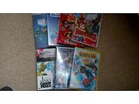 Bundle of 9 childrens DVDs