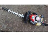 Petrol Hedge Trimmer Lawnflite E2220W Serviced