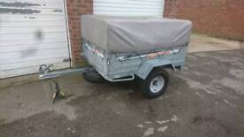 Erde 142 Trailer with high kit