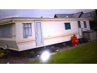 6 berth static caravan ,site fees paid till april 2017,everything included ,site fees £1100 year
