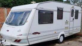 5 berth Elddis cyclone Gt. 1998. With awning and extras. NO DAMP. I can deliver. Cheap