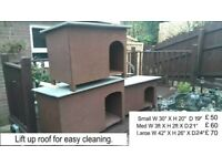 NEW DOG KENNELS AND CAT BOXES