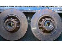 vauxhall vivaro 1.9 rear brake discs