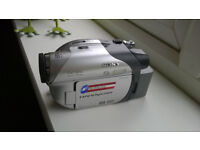 sony dcr-dvd camcorder , charger , bag , spare battery , spare new mini dvd,s ,all inclusive