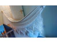 Hammock - Brazilian cotton hammock.
