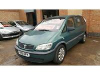 2001 Vauxhall Zafira 1.6 - 7 Seater - 28 Days Warrenty