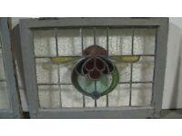 29 Leaded Glass Window Panes