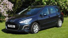PEUGEOT 308 1.6 E-HDI SW ACCESS FAP 5d AUTO 112 BHP Automatic Diesel (blue) 2012