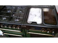 LEISURE RANGEMASTER 110 GAS COOKER GREEN COLOR...FREE DELIVERY