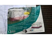 Quest porch awning.