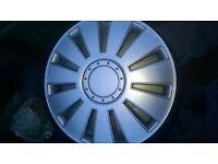 "Wheel trims taken off 15"" Vauxhall steel wheels"