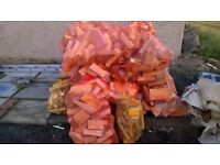 LARGE WINTER PACK KILN DRIED FIREWOOD 25 bags logs 5 bags kindling 5 boxes of fire lighters