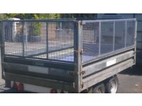 Conway Cage sided Glide-along trailer