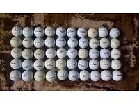 50 Mixed Golf Balls