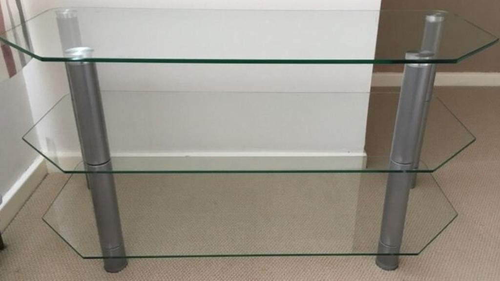 """Premium Glass TV Stand Up to 50"""""""