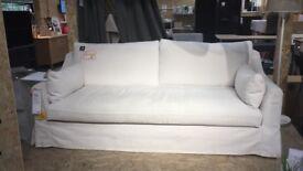 Ikea exdisplay FARLOV white 3 sweater sofa