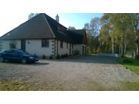 LARGE DETACHED 4/5 BEDROOM HOUSE FOR RENT (VERY PRIVATE LOCATION) £850