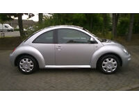 03 vw beetle very low miles fsh 3 keys stunning condition only 32k